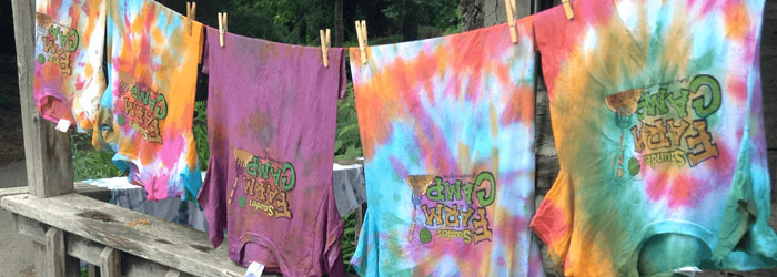 Farm camp shirts